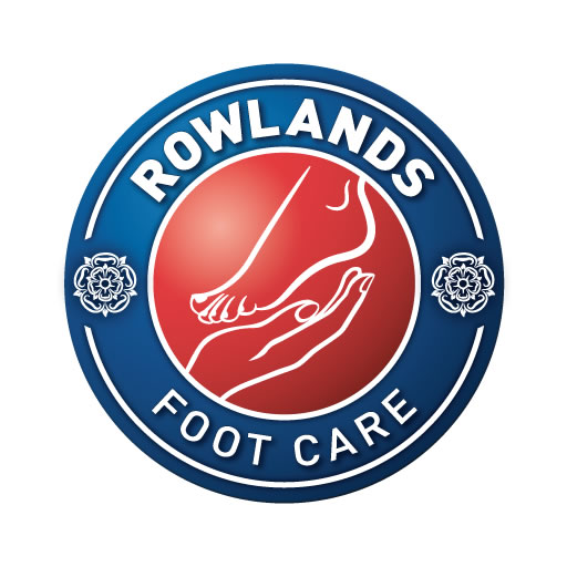 1 Meticulous Podiatrist Chiropodist Cambridge – Rowlands Foot Care Logo