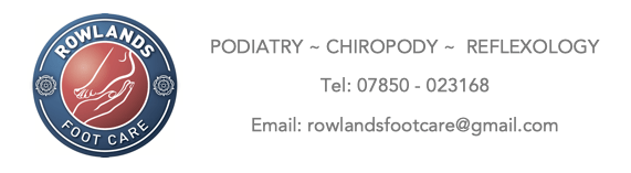 Rowlands Foot Care – Podiatry & Chiropody in Cambourne Logo
